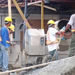 Construcción estima caída del 9%