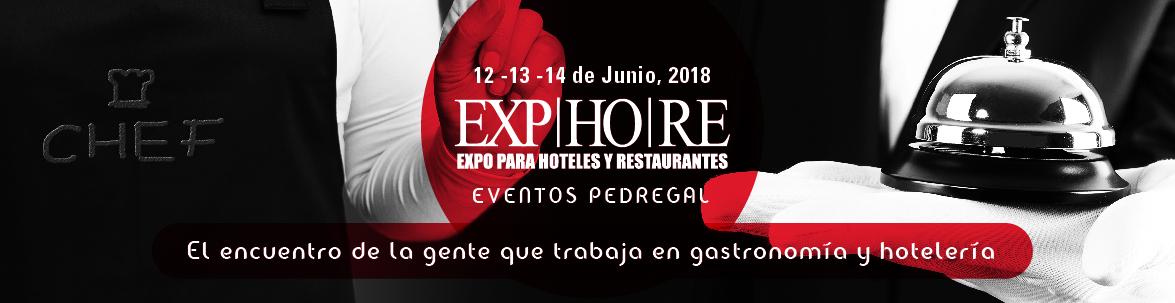 Expo Hoteles y Restaurantes 2018