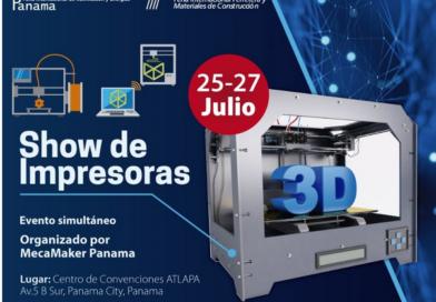 Expo F e InterLumi listas para show de impresoras 3D